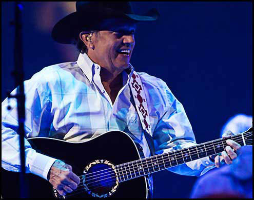George Strait Live Photos